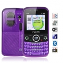 086. Мобилен телефон Q8 две сим WIFI TV FM QWERTY MP3/4